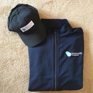 Greg Norman Full Zip Wind Jacket and Golf Cap